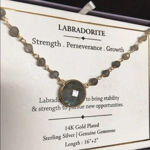Labradorite 14ktgf Sterling Silver necklace